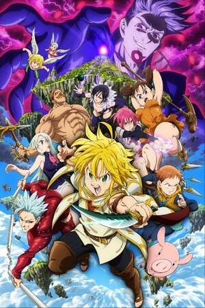 Nanatsu no Taizai Prisoners of the Sky