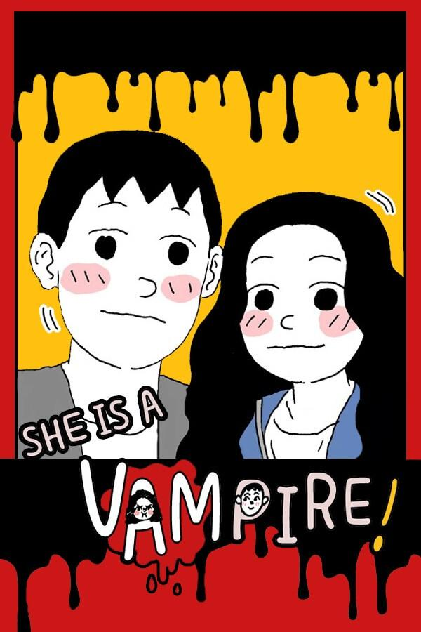 She is a Vampire!
